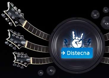 Distecna a puro Rock, junto a Cisco y Ultimate Ears